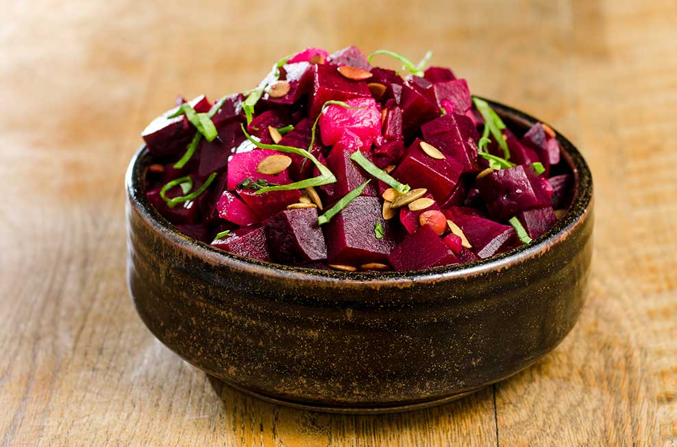 ... roasted beet and red onion salad red leaf salad with roasted beets